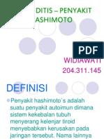THYROIDITIS – PENYAKIT HASHIMOTO POWER POINT