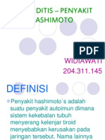 THYROIDITIS – PENYAKIT HASHIMOTO POWER POINT