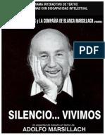 dossier Programa Integracioìn para Discapacitados - SILENCIO... VIVIMOS