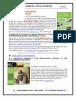 GSA Announcements November7th 2011