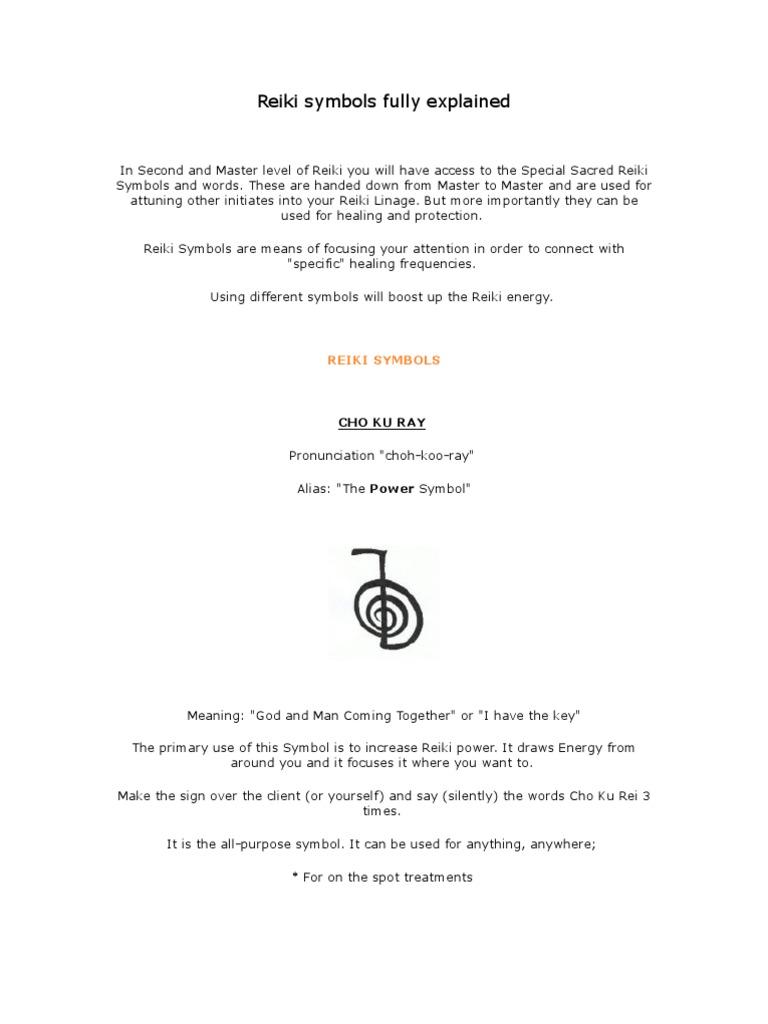Reiki Symbols Fully Explained Reiki Chakra