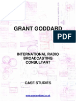 'Grant Goddard - International Radio Broadcasting Consultant - Case Studies' by Grant Goddard