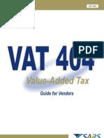 Template VAT404 Vendors
