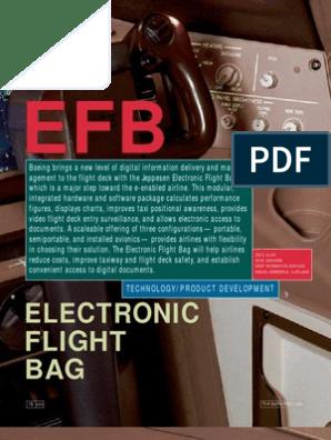 Electronic Flight Bag Boeing   Aerospace Engineering   Aviation