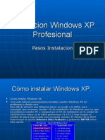 Instalacion Windows XP Profesional