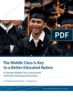 The Middle Class Is Key to a Better-Educated Nation