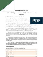 histograma 2011 investigacion