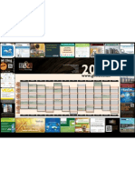 The GFMT event wall planner