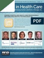 RFID in Healthcare Brochure
