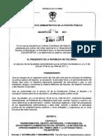 Decreto_4183 COLDEPORTES