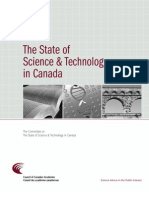 The State of Science and Technology in Canada