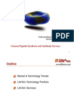 LifeTein Peptide Synthesis Service Overview