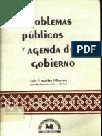 problemas publicos y agenda de gobierno