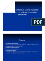Gestion Ambiental%2c ISO 14001 Clase 13-10-2011