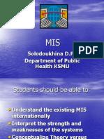 Med Info Sys