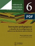 Maria Isabel Da Cunha Caderno VI Seminario