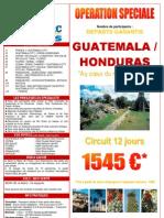 GUATEMALA HONDURAS