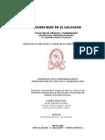 LIDERAZGO EN LA ORGANIZACIÓN DE TRABAJADORAS DEL SEXO, EL SALVADOR