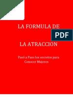 La Formula de La Atraccion de Paul Janka