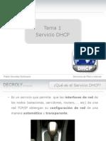 Tema1 - Servicio DHCP