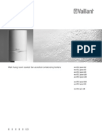 Vaillant Ecotec User Manual