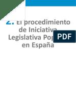 2. El Procedimiento de Iniciativa Legislativa Popular