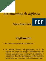 Diapo Mecanismos de Defensa