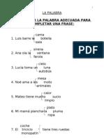 Actividades Guay Para Lengua