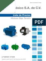 Weg Lista de Precios Mex