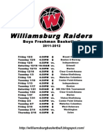 Williamsburg 9th 11-12
