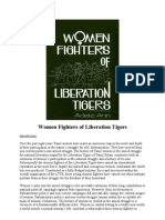 Adele Balasingham - Women Fighters of Liberation Tigers [1993]