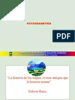 FOTOGRAMETRÍA_analítica y digital