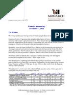 The Monarch Report 11-08-11