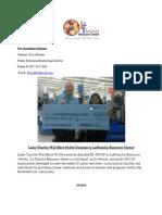 Press Release WalMart Donation