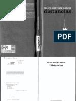Distancias (F. Martïnez Marzoa)