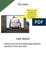 Lesson-3 Pressure and Depth