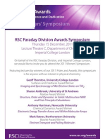 2011 Promoting Awards Sympoisa_Faraday a
