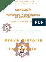 Breve Historia de La Tecnologia