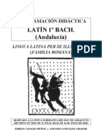 1BAC Programacion Didactica Latin Andalucia