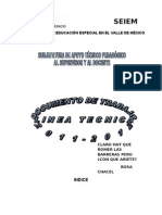 DOCUMENTO DE TRABAJO 2011-12