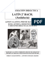 2BAC Programacion Didactica Latin Andalucia