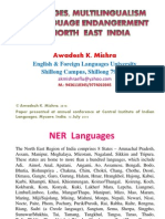 61735161 Linguistic Situation Multilingualism and Lg Endangerment in NE India