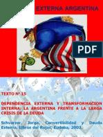 Clase PRACTICA Nº 13 La crisis de la deuda externa