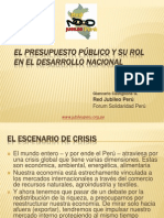 El Presupuesto Público y su rol en el desarrollo nacional