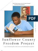 The Official Newsletter of the Sunflower County Freedom Project, Fall 2011