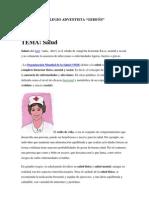 Cnsulta de Salud Josue