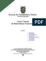 Mat Financ Escuela de ad y Admon UABC
