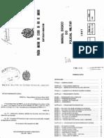 M-4 - Manual Do Policial Militar - Impresso