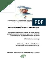 Terminologia Gastronomica