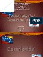 Sistema Educativo Venezuela-Japon